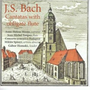 Bach: Cantatas With Obligate Flute - Anne-Helene Moens
