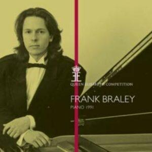 Piano 1991 - Queen Elisabeth Competition - Frank Braley
