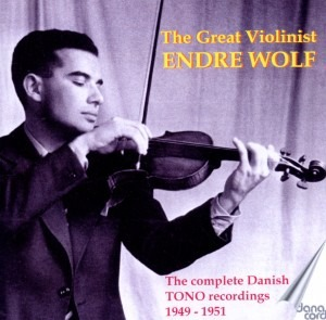 The Great Violonist Endre Wolf (194