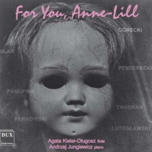 For You, Anne-Lill: Works for Flute & Piano - Agata Lielar-Dlugosz