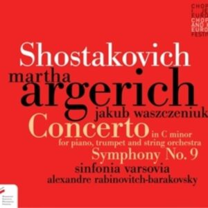 Shostakovich: Concerto For Piano In C Minor Op. 35 - Martha Argerich