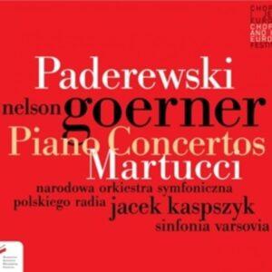 Martucci / Paderewski: Piano Concertos - Goerner