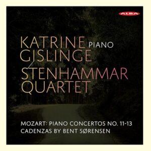 Mozart: Piano Concertos Nos.11-13 - Katrine Gislinge