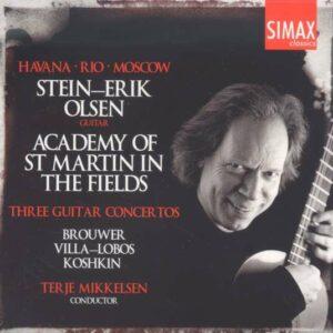 Three Guitar Concertos