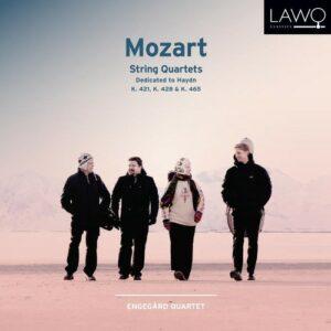 Mozart: String Quartets,  K. 421,  K. 428,  K. 465 - Engegard Quartet