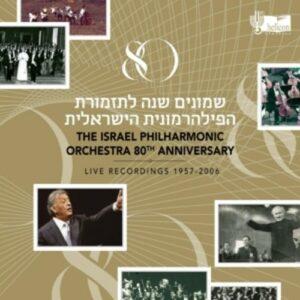 80th Anniversary | Live Recordings 1957-2006 - Zubin Mehta