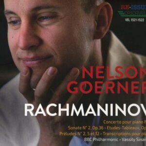 Nelson Goerner Plays Rachmaninov