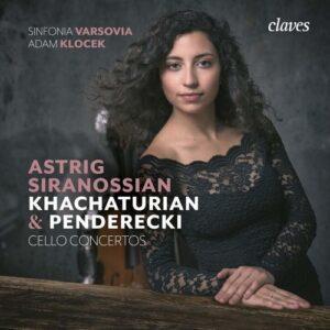 Khatchaturian / Penderecki: Cellos Concertos - Astrig Siranossian