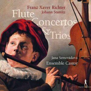 Richter / Stamitz: Flute Concertos & Trios - Jana Semeradova