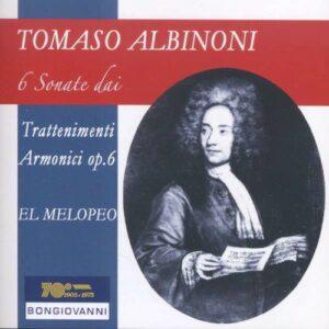Tomaso Albinoni: 6 Sonate Dai Trattenimenti Armonici - El Melopeo
