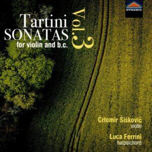 Giuseppe Tartini: Sonatas For Violin And B.C. Vol.3 - Crtomir Siskovic