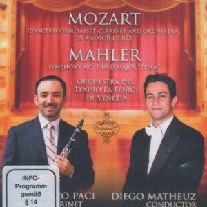 Mozart: Concert For Basset Clarinet - Mahler: Symphony No.1