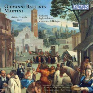 Giovanni Battista Martini: Azione Teatrale, 1726