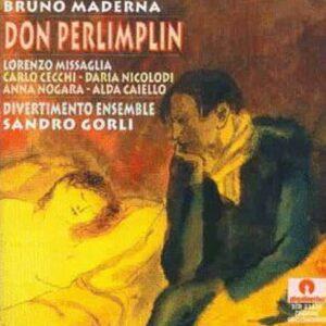 Bruno Maderna: Don Perlimplin - Alda Caiello