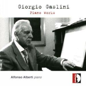 Giorgio Gaslini: Piano Works - Alfonso Alberti