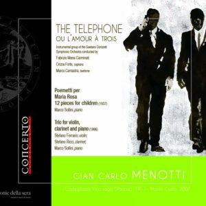 Menotti: The Telephone Ou L'Amour A