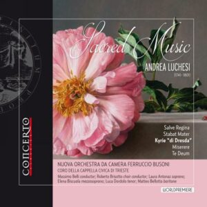 Andrea Luchesi: Sacred Music - Nouvo Orchestra Da Camera Ferruccio Busoni