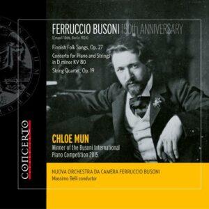 Busoni: Finnish Folk Songs / Conc. for Piano & Strings - Chloe Mun