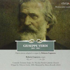 Verdi : Œuvres pour orgue. Cognazzo.