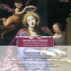 Zipoli : Œuvres pour orgue. Giacomelli.