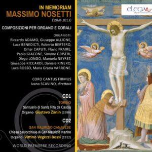 Nosetti : In memoriam, intégrale de l'œuvre pour orgue.