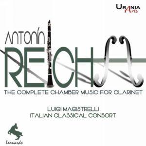 Reicha : L'œuvre pour clarinette et quatuor à cordes. Magistrelli.