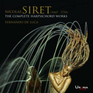 Nicolas Siret : Intégrale de l'œuvre pour clavecin. De Luca.
