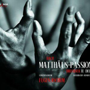 Bach : Passion selon St. Matthieu. Haefliger, Berry, Giebel, Höffgen, Jochum.