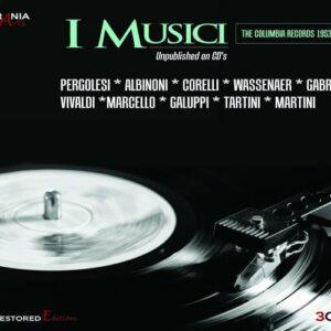 I Musici : Les enregistrements Columbia, 1953-1954.