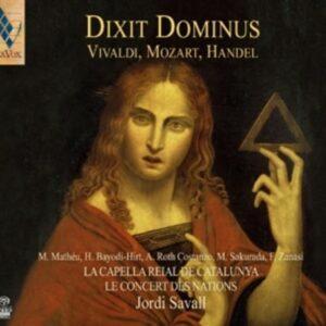 Vivaldi / Mozart: Dixit Dominus - Jordi Savall