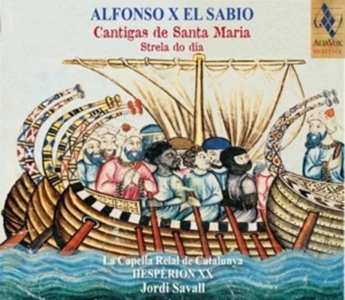 Alfonso X el Sabio: Cantigas De Santa Maria - Jordi Savall