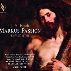 Bach: Markus Passion BWV247 (1744) - Jordi Savall
