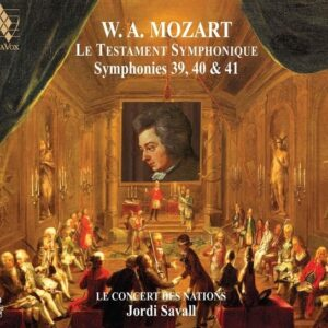 Mozart: Le Testament Symphonique, Symphonies Nos.39, 40 & 41 - Jordi Savall