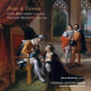 Boccherini / Brunetti: Arias & Escenas - Camerata Antonio Soler