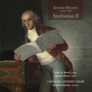 Gaetano Brunetti: Sinfonias II - Camerata Antonio Soler