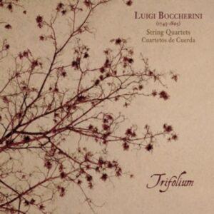 Boccherini: String Quartets - Trifolium