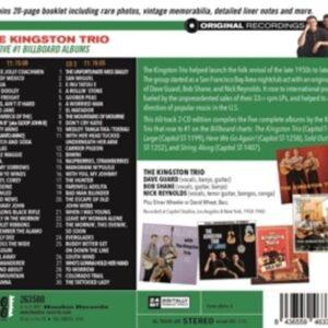 Five #1 Billboard Albums - Kingston Trio