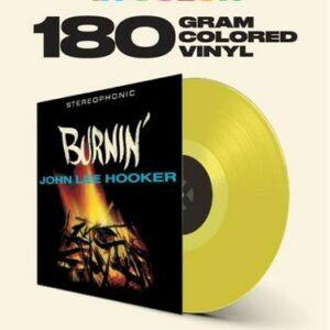 Burnin' (Vinyl) - John Lee Hooker