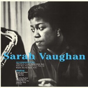Sarah Vaughan With Clifford Brown (Vinyl)