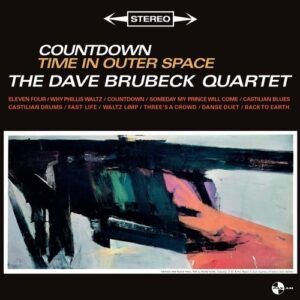 Countdown Time In Outer Space (Vinyl) - The Dave Brubeck Quartet-
