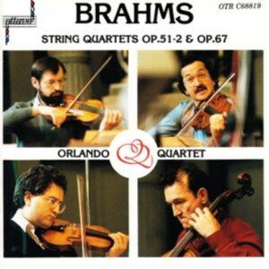 Brahms: String Quartets Nos. 2 & 3 - Orlando Quartet