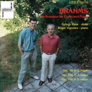 Brahms: Violin Sonatas - György Pauk