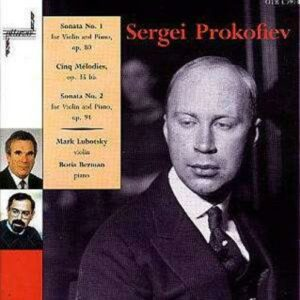 Prokofiev: Works For Violin & Piano - Mark Lubotsky