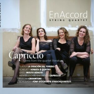 Capriccio, Gems From The Quartet Literature - EnAccord String Quartet