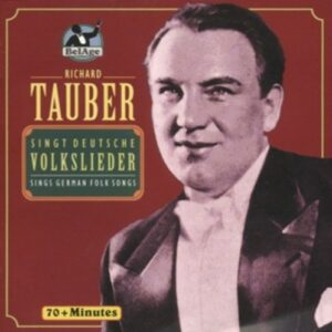 Sings German Folk Songs - Tauber