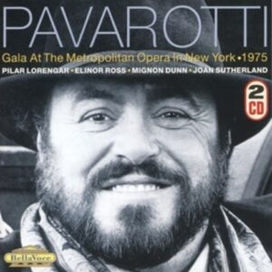Gala At The Metropolitan - Pavarotti