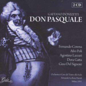 Donizetti: Don Pasquale - Ferdinando Corena