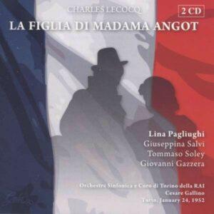 Charles Lecocq: La Figlia Di Madama Angot - Lina Pagliughi