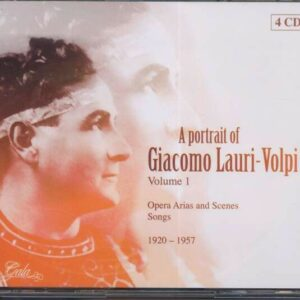 A Portrait Vol.1 - Giacomo Lauri-Volpi