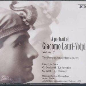 A Portrait Vol.2 - Giacomo Lauri-Volpi